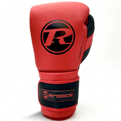 Ringside Gamma Series Ltd Edition Strap Glove - Red